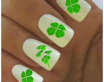 St Patricks Day Nail Decal