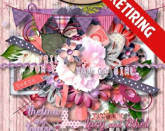Digital Scrapbook: Elements, BFF Element Pack