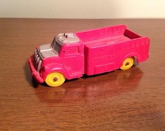 Auburn rubber toy truck 1950's
