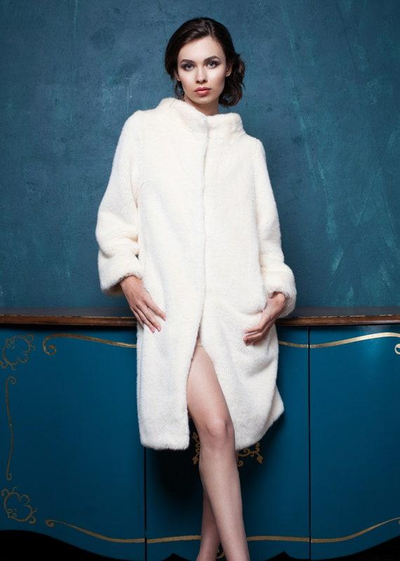 faux jacket Jacket pearl Fake Luxury Women fur France applique with mink Tissavel fur fur by Faux jacket fur Exclusive jackets fur afwAf