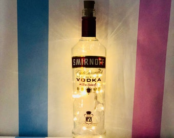 Smirnoff Vodka Fairy Lights in a Bottle