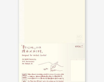 Midori MD Notebook - 10th Anniversary Edition - A5 - Sketch Journal