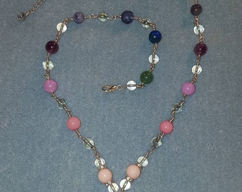 Root Chakra necklace with Angel