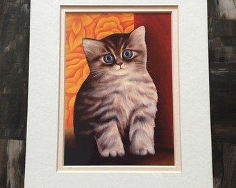 "1989 ""Sweet Pea"" Cat Print"