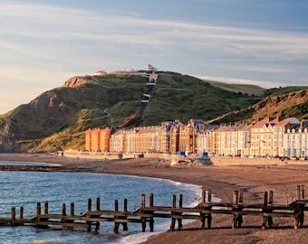 Seaside, Aberystwyth, Wales.