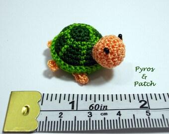 Turtle amigurumi crochet green - Tartaruga amigurumi uncinetto cotone verde