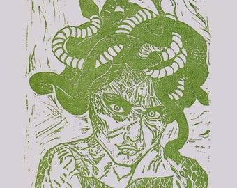 Memethology: Medusa - Lincout Print