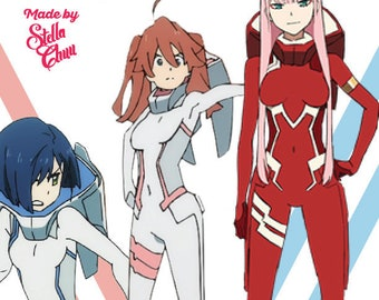 Darling in the Franxx Female Bodysuit sewing pattern cosplay Small Medium Large