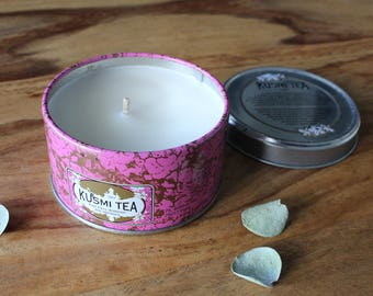 Kusmi tea candle // Earl Grey // Parisian // travel candle //  small size  // low scent