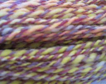 Hand Spun Yarn Citrus Bowl