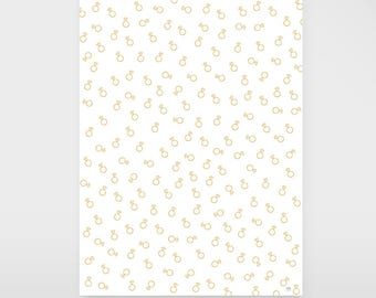 """Gift wrapping paper """"Diamant"""""""