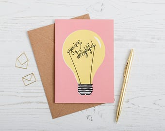 Mother's Day Card, Birthday card, Notecard, Snail mail, Card for loved one, Card for Mum, Anniversary Card
