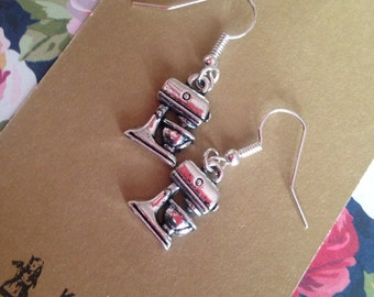 Food mixer earrings