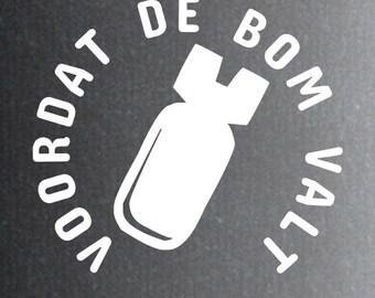 2x Voordat de bom valt ( Doe Maar )
