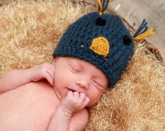 Little Birdie Hat Crochet Pattern