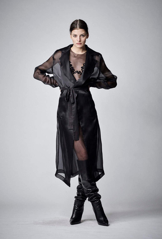 Black Sheer Dress Sexy Black Dress Plus Size Dress Organza