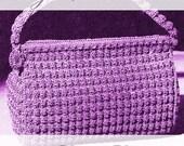 Vintage 1940s Bobble Purse Crochet Pattern INSTANT DOWNLOAD - PDF