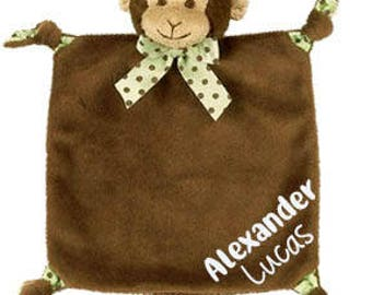 Wee Snuggler Blanket - Personalized Baby Security Blanket - Baby Shower - Newborn - Gift - Blankie - Personalized Baby Gift