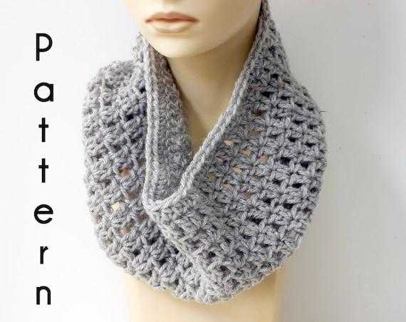 Fast Easy Cowl Crochet Pattern Simple Neck Warmer Pattern