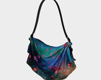 Her Heart Shines Purse Origami Tote Bag Fabric Purse Hippie Bag Side Purse Sling Bag Purses Colorful Purse Festival Totes Fashion Mom Gifts