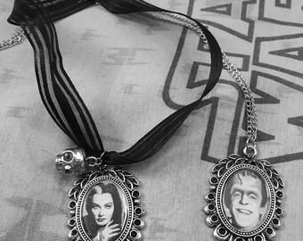 Lily Munster Necklace Chocker