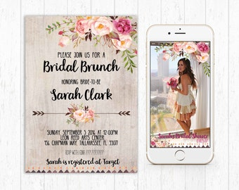 Bridal shower brunch Etsy