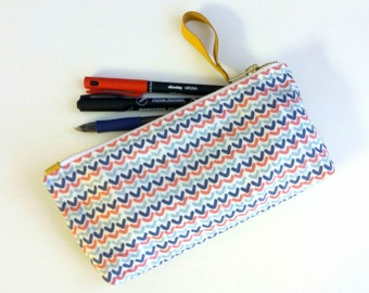 Make up pouch, Zipper pouch, Pencil case, passport case, birthday gifts, toiletry bag, vanity bag, pouch, cosmetic bag