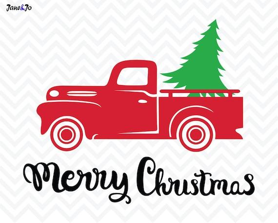 Christmas Tree SVG FileChristmas Truck SvgChristmas Svg