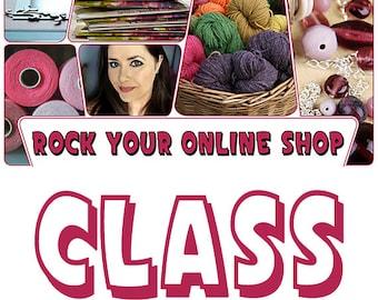 Rock Your Online Shop Class by Jennibellie - CLASSROOM VERSION