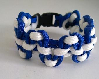 Survival bracelet / Bracelet men / two-tone Bracelet for men / men jewelry / jewelry Paracord / Paracord Bracelet