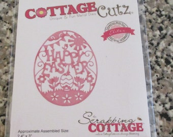 Cottage Cutz, Happy Easter Egg Die