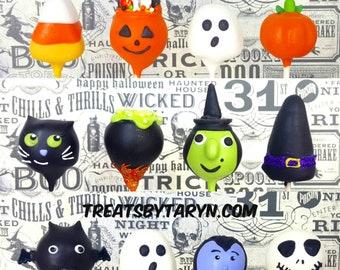 Halloween variety cake pops. Halloween cat cake pop. halloween. Halloween cake pop. Halloween treat. Halloween goodies. Halloween party.