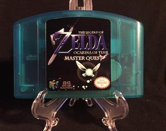 Legend of Zelda Ocarina of Time Master Quest Nintendo 64 N64 Game