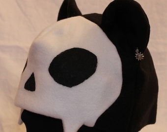 Skull Bear Fleece Hat - VARIOUS COLORS