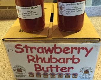 Strawberry Rhubarb Jam, Preserves