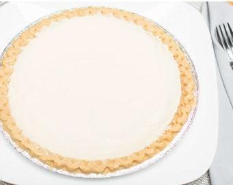 Imani's original 9 inch Cream Cheese Bean Pie