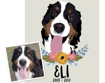 Custom Pet Portraits - Wait List Deposit