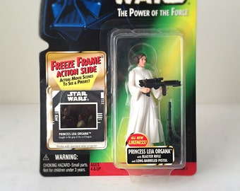 Star Wars Gift for Her, Princess Leia Toy, Star Wars Figure, Carrie Fisher Collectible, Last Jedi, Rogue One, 90s Toy, You're My Only Hope