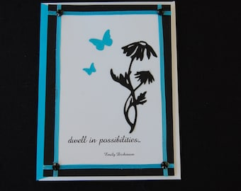 Dwell in Possibilities Quotable Note Card