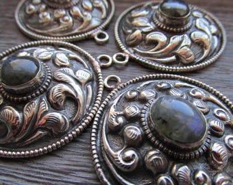 Pendants with Labradorite, Choice of Shape, Labradorite, labradorite pendant, Pendant, large pendant