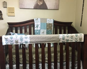 COUNTRY BOY Nursery Collection, Hunting Crib bedding, Fishing Crib bedding, Deer Minky Blanket, Fishing Baby Bedding, Rustic Country Nursery