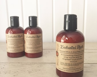 Enchanted Apple Body Lotion - Coconut Milk & Aloe Body Lotion with Cocoa Butter
