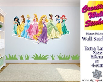 Disney Princesses Wall Art Sticker