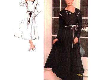 Simplicity Sewing Pattern 8929  Misses' Pullover Dress in two lengths, Tie Belt  Size:  6-8  Uncut
