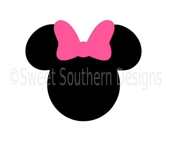 Minnie Mouse Svg Instant Download Design For Cricut Or