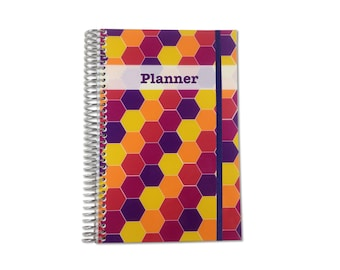 2018 Planner | Weekly Planner | 2018-2019 | Personalized Planner | Weekly Monthly Planner | Weekly Organizer | Agenda Planner