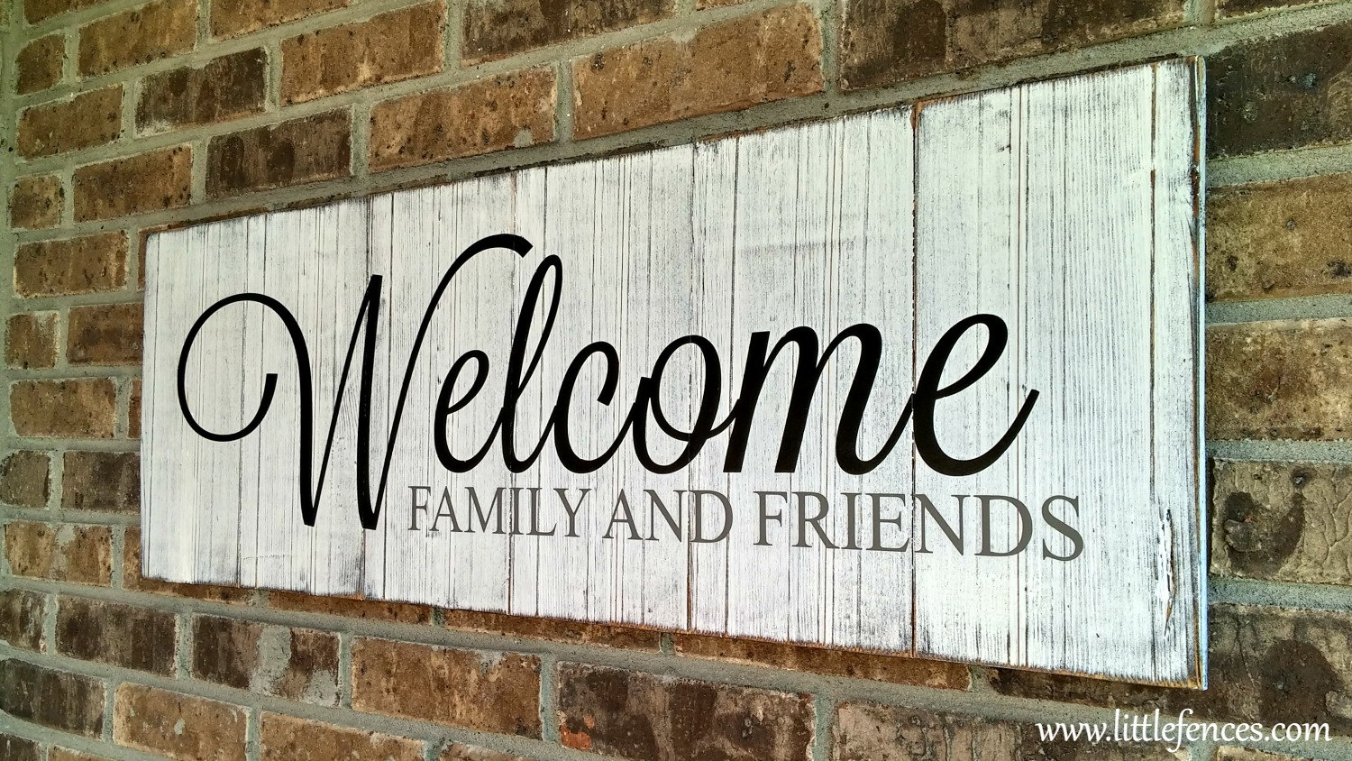 Welcome Sign Welcome Home Family Sign Porch Decor Wood