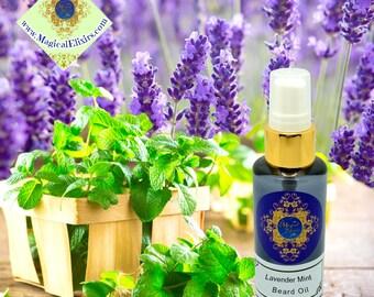 Lavender, Mint, Beard Oil, Mustache Oil, Facial Hair Oil, Beard, Conditioner, Balm