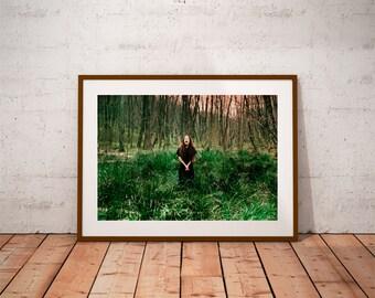 emotional portrait, woman portrait, nature photography, fine art photography, canvas photo prints, wall art decor, surreal photography