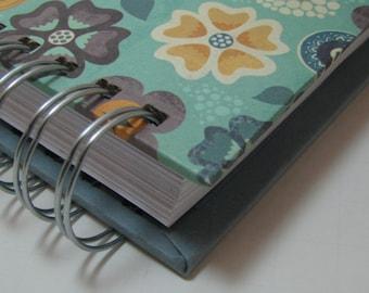 Recipe Organizer - Recipe Log - Recipe Book - Recipes - Recipe Journal - Recipe Notebook - Cooking - Foodie Gift - Bridal Shower - Floral